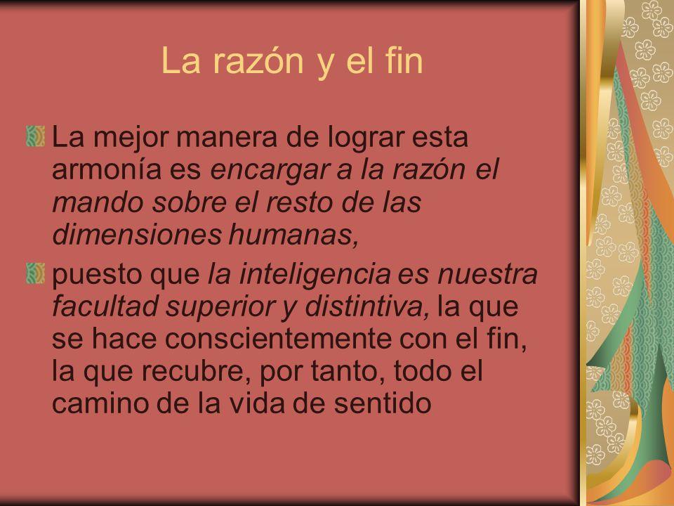 La razón y la autoridad El hombre inteligente habla con autoridad cuando dirige su propia vida.