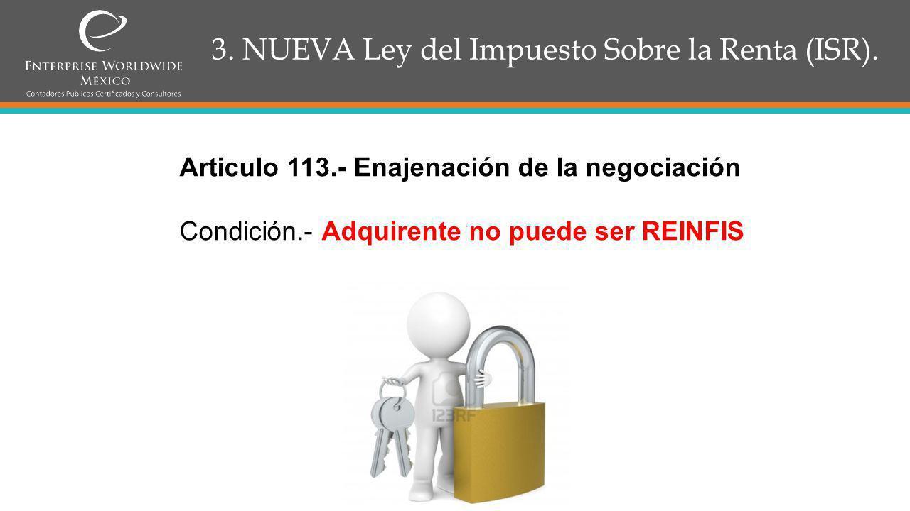 3.NUEVA Ley del Impuesto Sobre la Renta (ISR). CAPITULO IV.