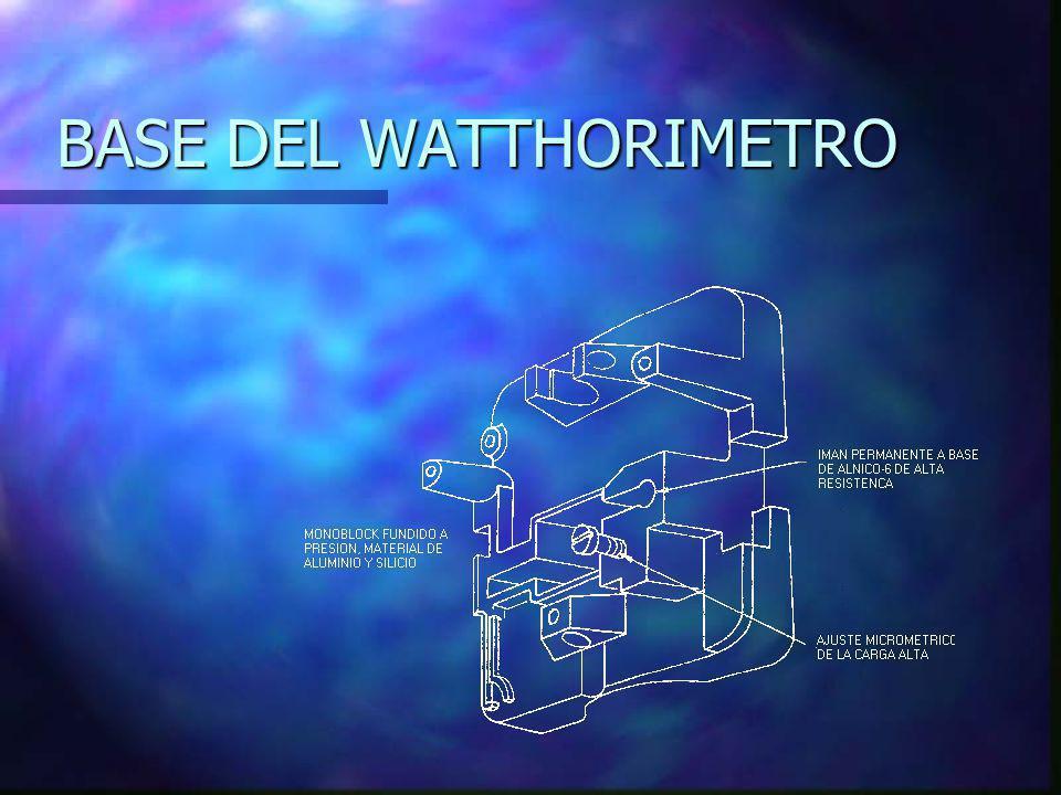 BASE DEL WATTHORIMETRO