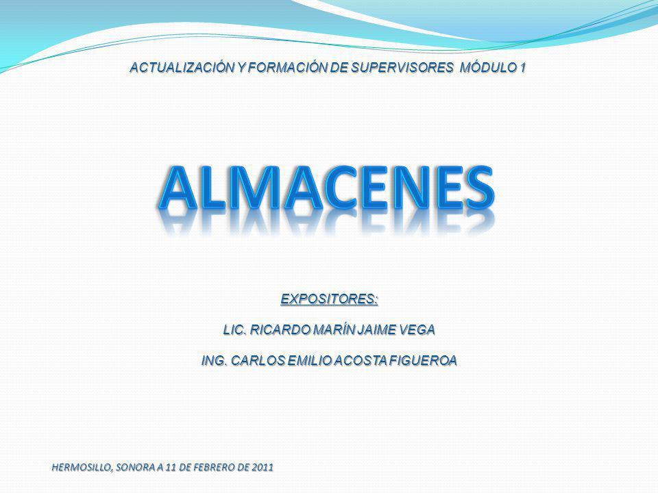 HERMOSILLO, SONORA A 11 DE FEBRERO DE 2011 EXPOSITORES: LIC. RICARDO MARÍN JAIME VEGA ING. CARLOS EMILIO ACOSTA FIGUEROA ACTUALIZACIÓN Y FORMACIÓN DE