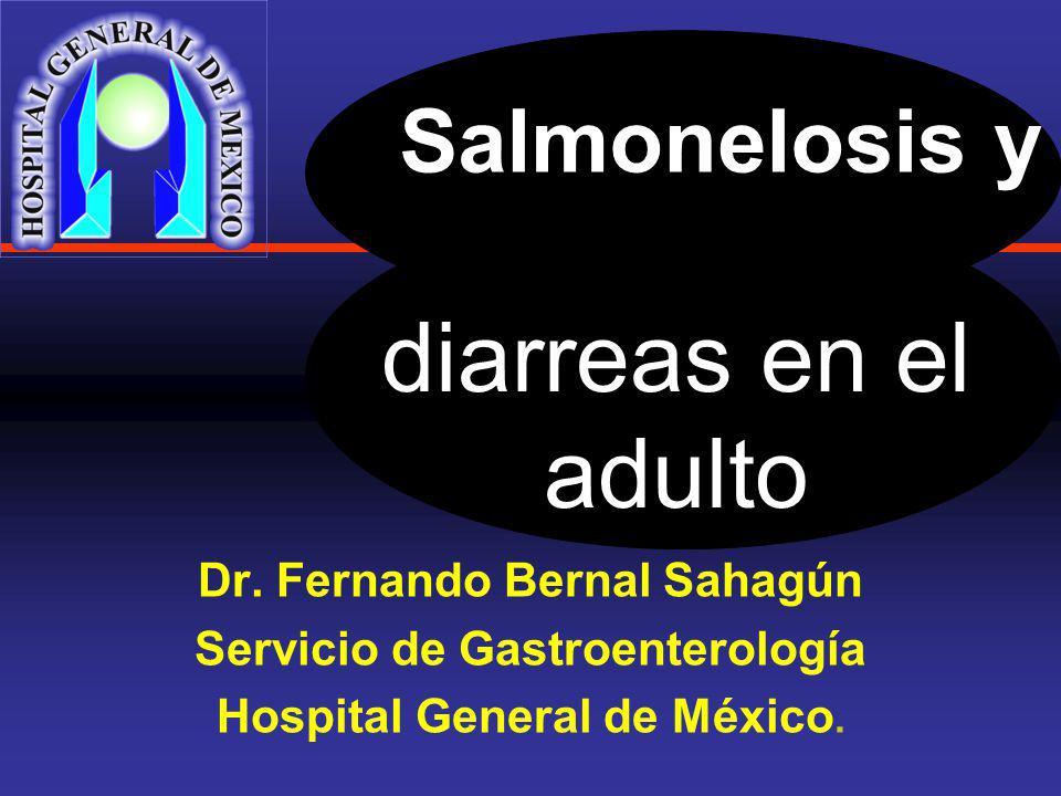 Salmonelosis y Dr.