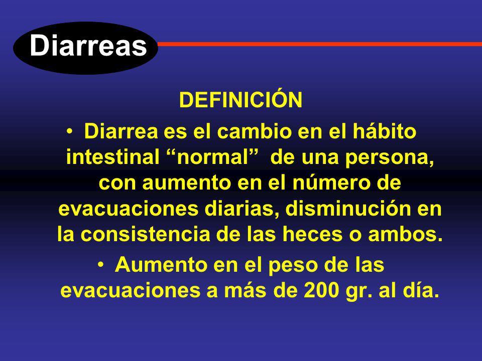 Diarreas Introducción. El intestino delgado y el colon, están en contacto con múltiples agentes exógenos y en especial con agentes infecciosos o sus t