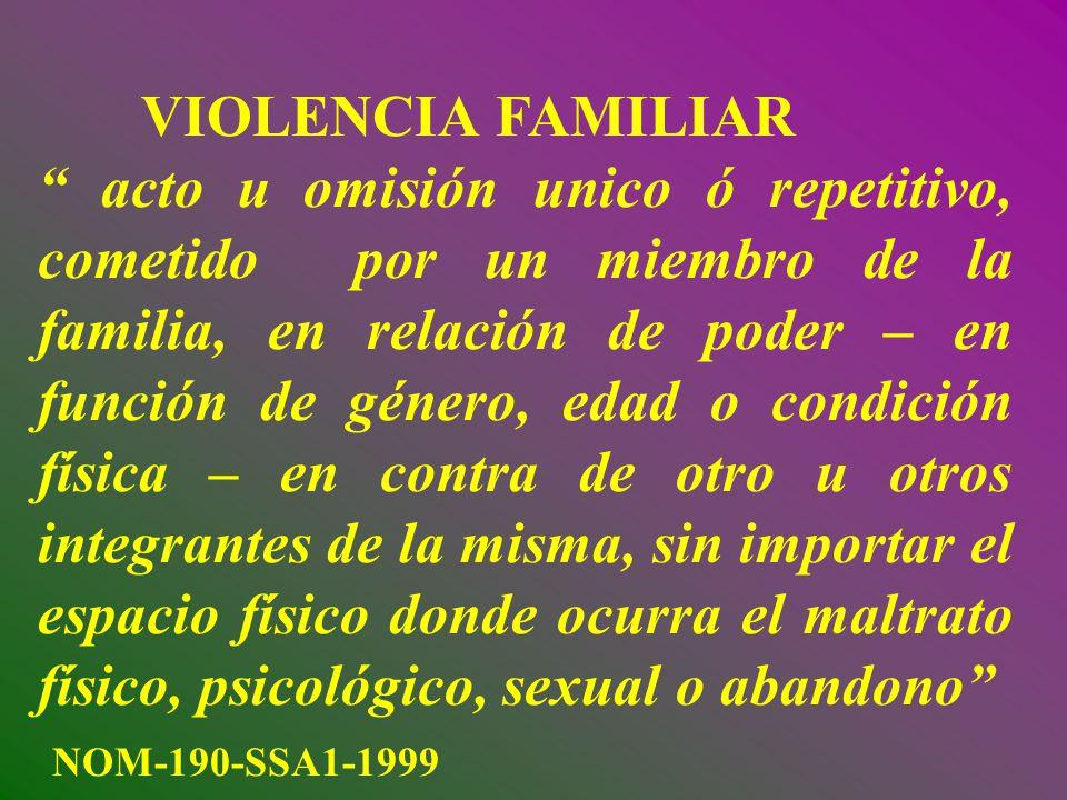 En 2004, un estudio realizado en la ciudad de Mérida, Yucatán mostró un 5% de violencia física y 3% de violencia sexual en población general.