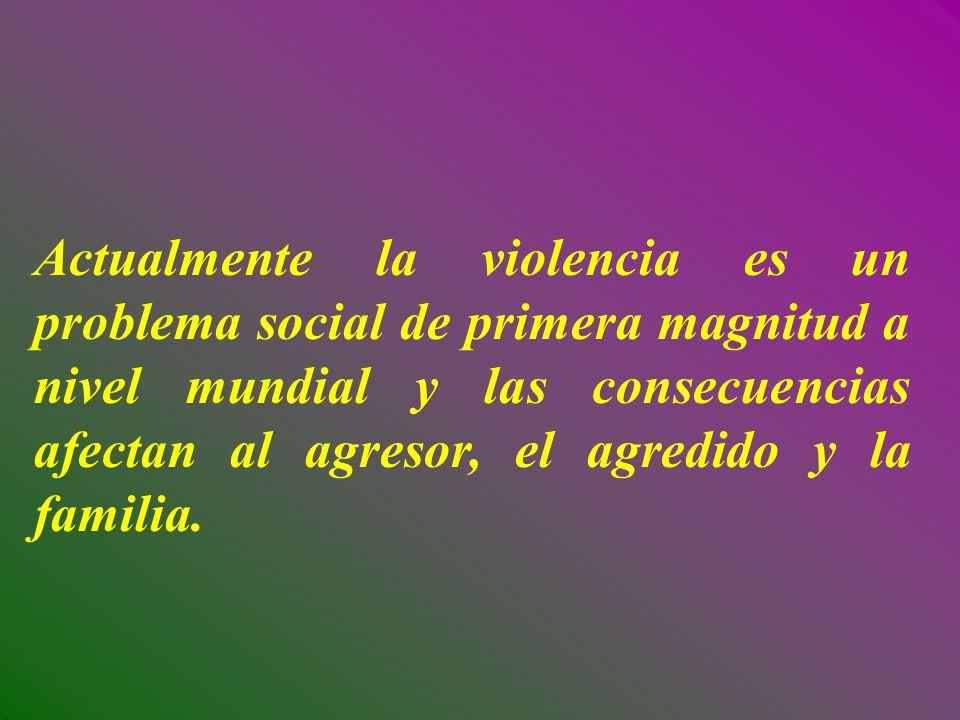 Tres de cada cuatro mujeres en el mundo son víctimas de violencia doméstica; en el 90% de los casos, el agresor es un hombre conocido por ella.