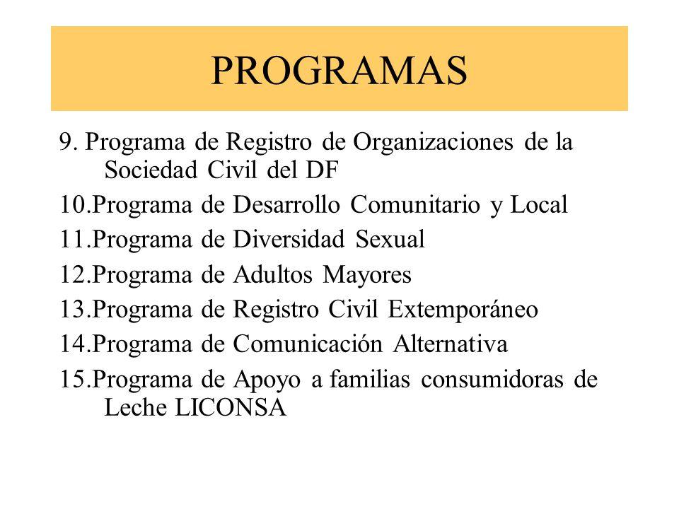 PROGRAMAS 9.