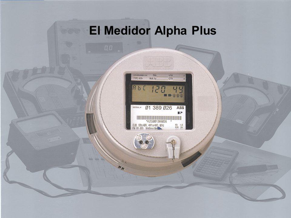 3BUSXXXXXXR0001 Page 1 ABB Electricity Metering El Medidor Alpha Plus