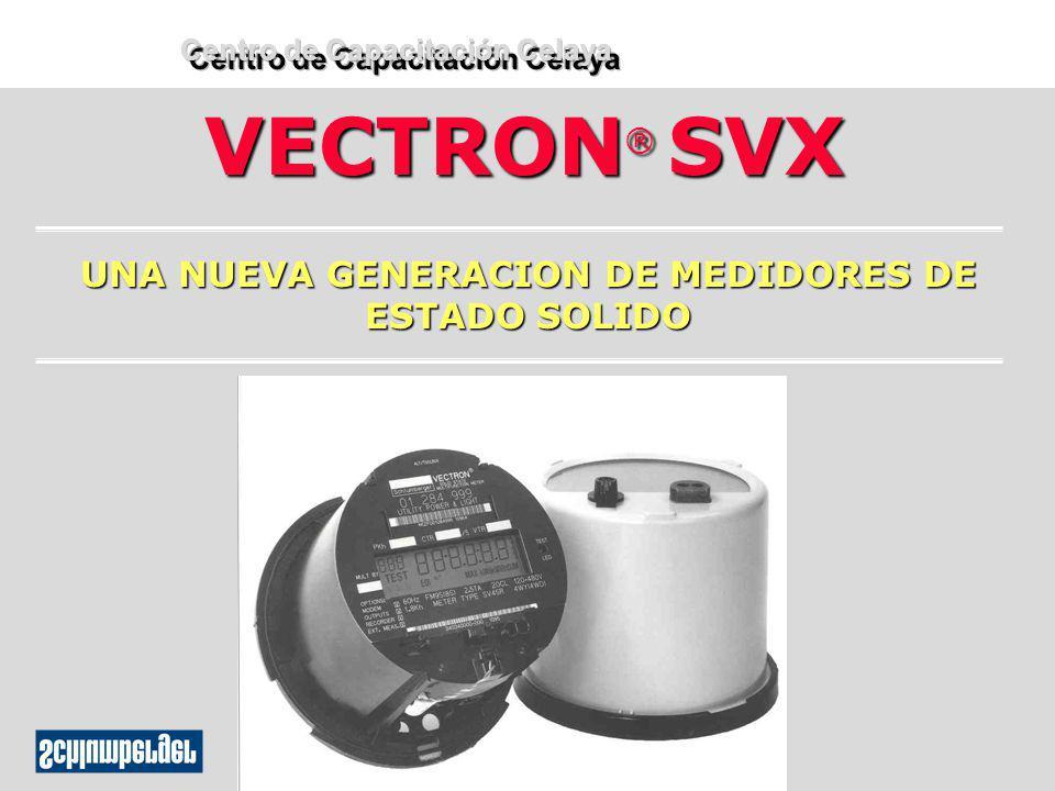 VECTRON ® SVX UNA NUEVA GENERACION DE MEDIDORES DE ESTADO SOLIDO