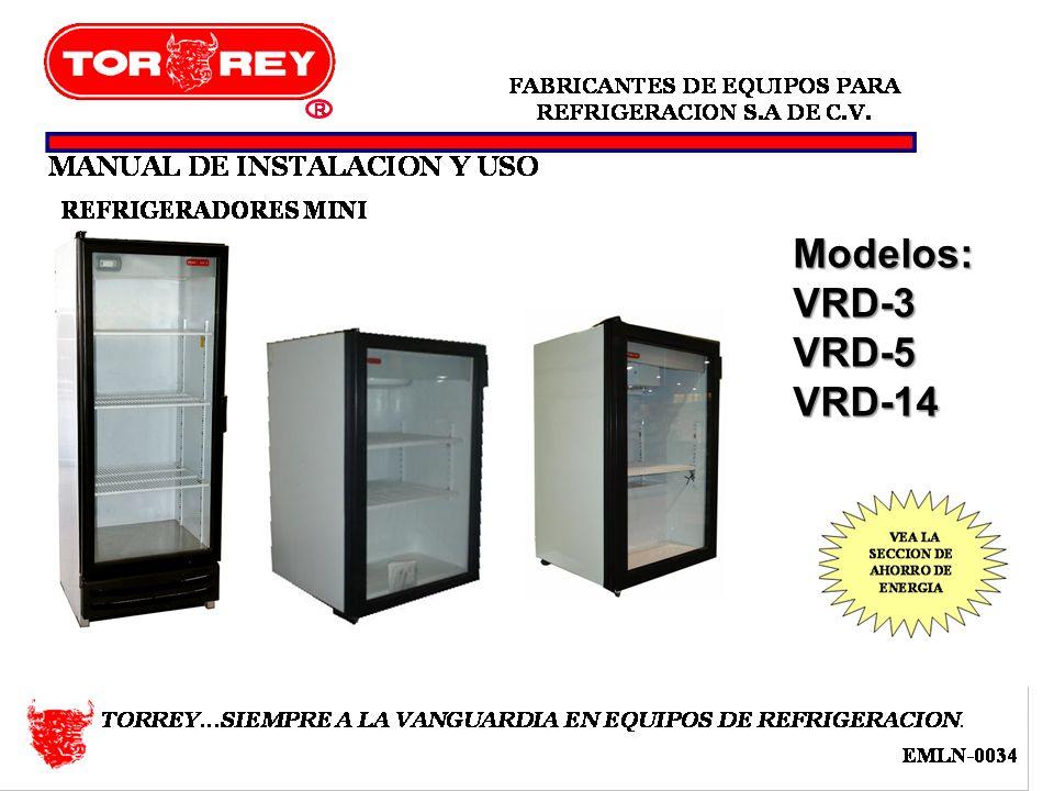 Modelos:VRD-3VRD-5VRD-14
