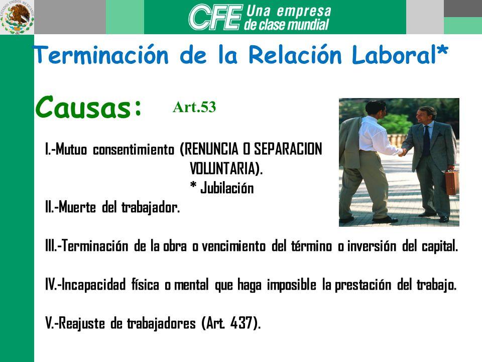 Suspensión de la relación de trabajo*: Artículos 42, 43 y 45 LFT Enfermedad contagiosa. Incapacidad temporal por riesgo NO profesional. Prisión preven