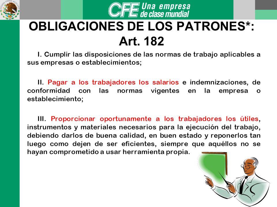 Art.53 I.-Mutuo consentimiento (RENUNCIA O SEPARACION VOLUNTARIA). * Jubilación II.-Muerte del trabajador. III.-Terminación de la obra o vencimiento d
