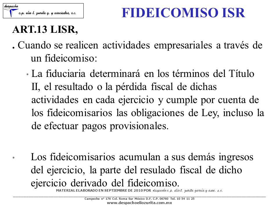 MATERIAL ELABORADO EN SEPTIEMBRE DE 2010 POR despacho c.p.
