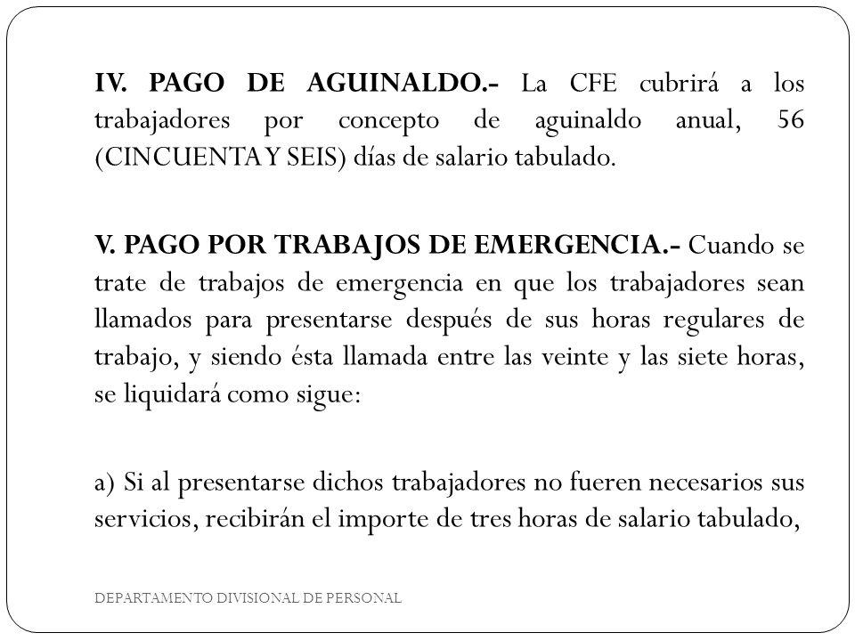 CLÁUSULA 41 TRABAJADORES TEMPORALES DEPARTAMENTO DIVISIONAL DE PERSONAL