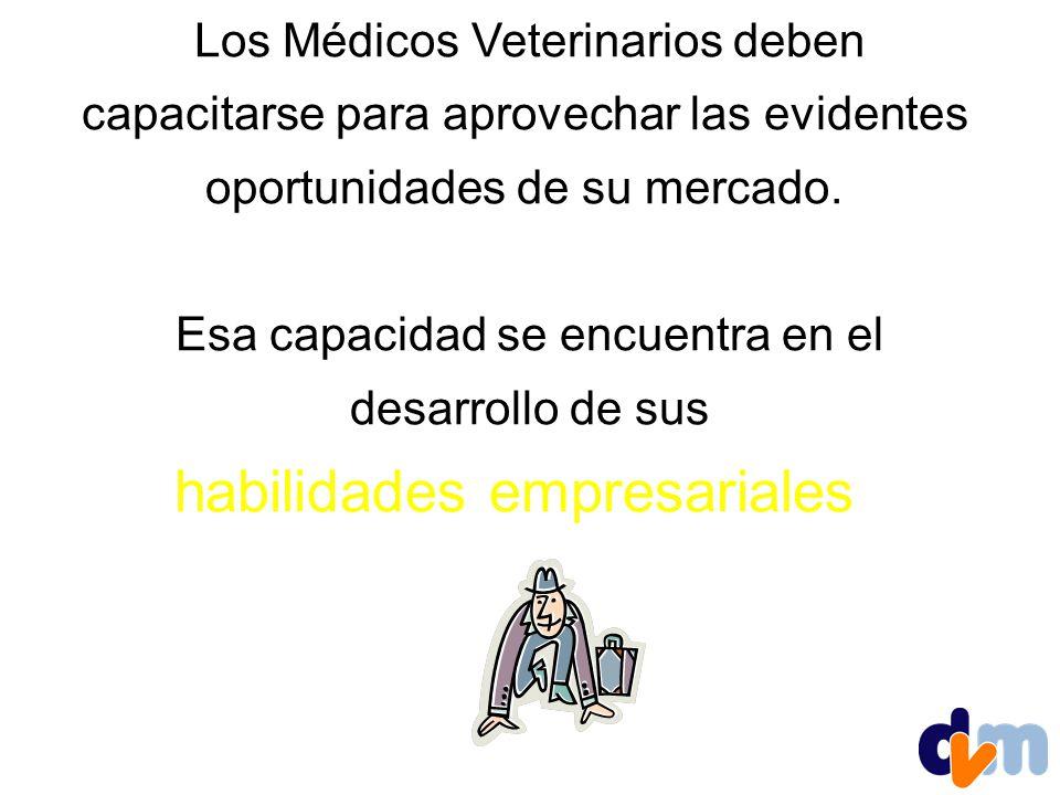 Los Médicos Veterinarios deben capacitarse para aprovechar las evidentes oportunidades de su mercado.
