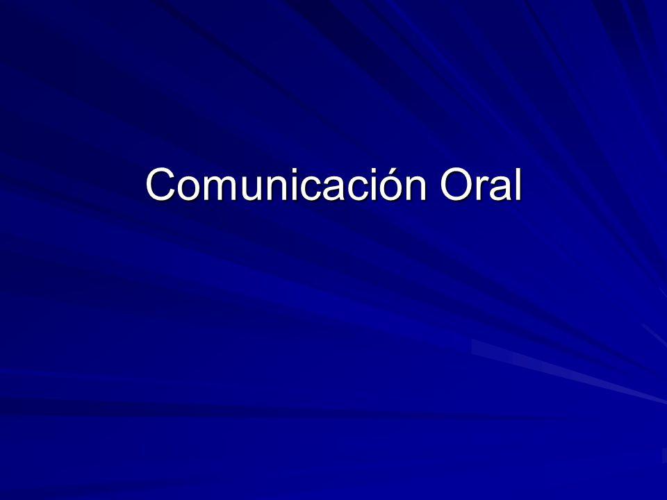 Una presentación oral de un tema frente a un grupo puede hacerse en forma individual o colectiva.