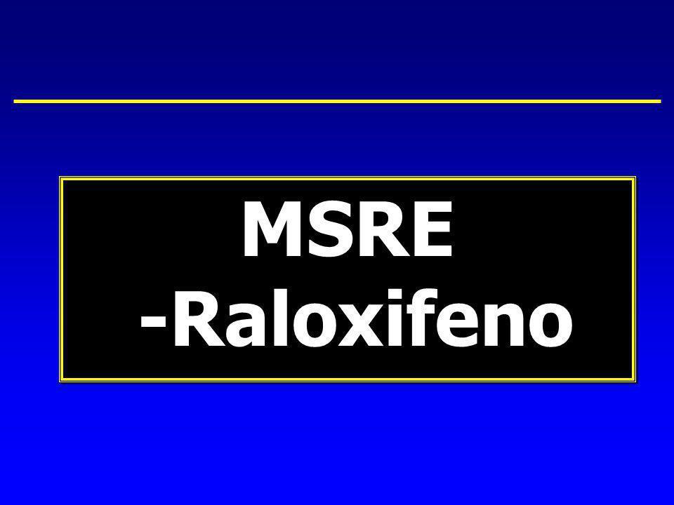 MSRE -Raloxifeno