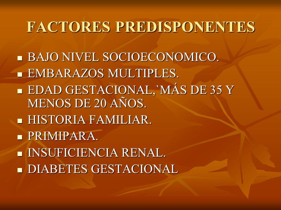 DIAGNOSTICO HIPERTENSIÓN: HIPERTENSIÓN: DEFINIDA COMO PRESENCIA DE TA SISTOLICA DE 140 mmHg.