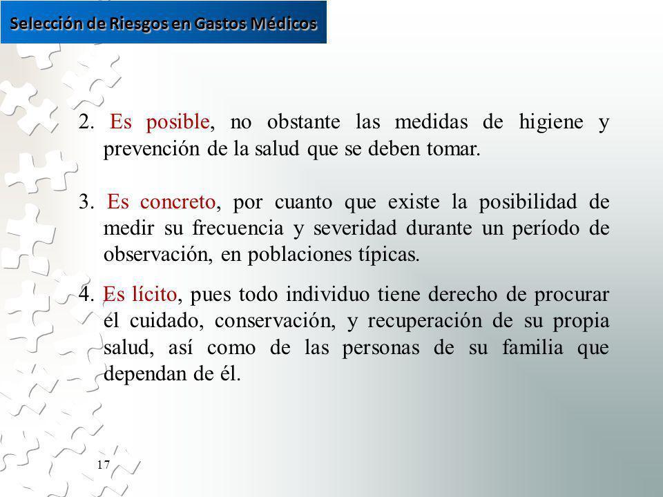 17 2. Es posible, no obstante las medidas de higiene y prevención de la salud que se deben tomar.