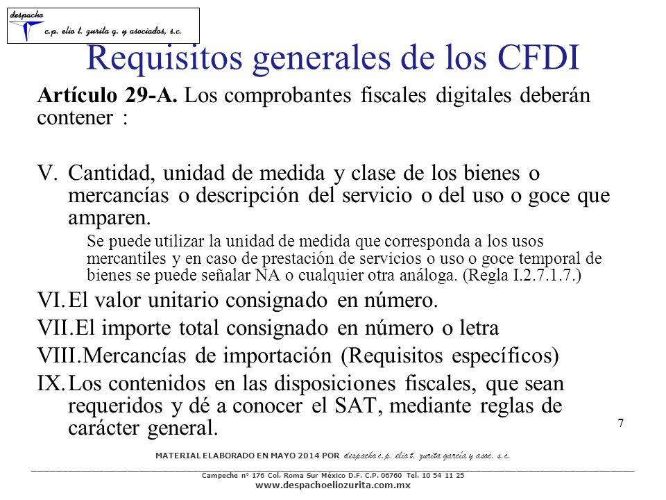MATERIAL ELABORADO EN MAYO 2014 POR despacho c.p.elio t.