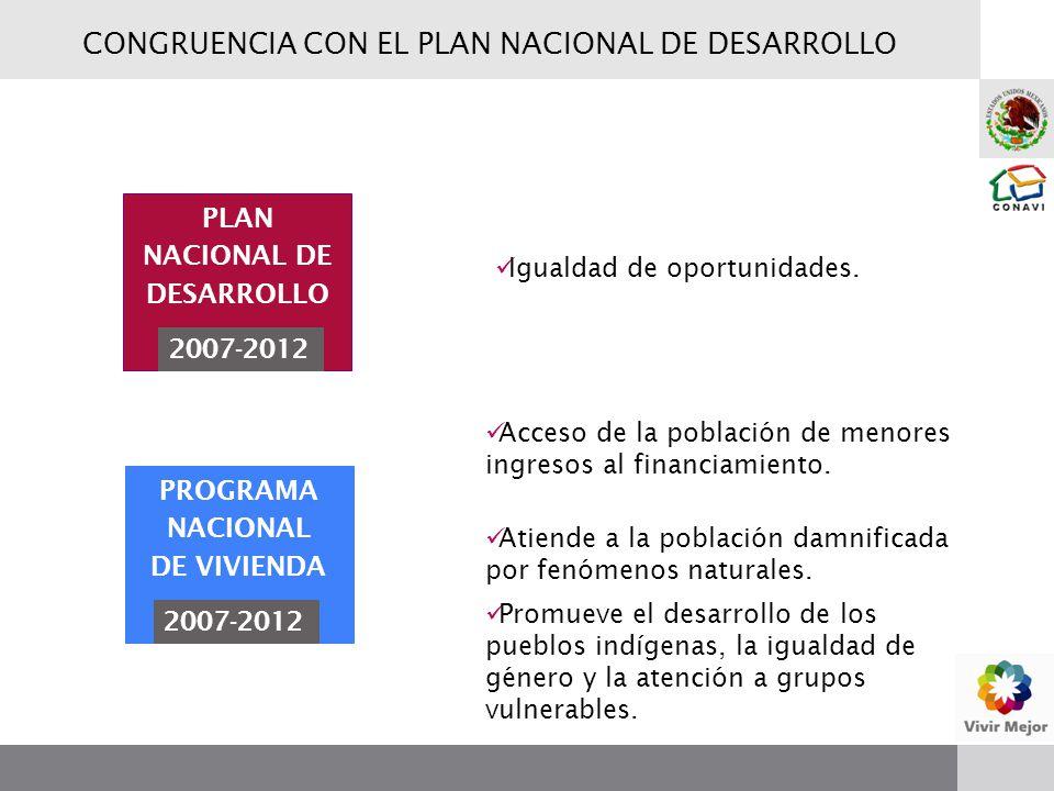 Igualdad de oportunidades. Acceso de la población de menores ingresos al financiamiento. Promueve el desarrollo de los pueblos indígenas, la igualdad