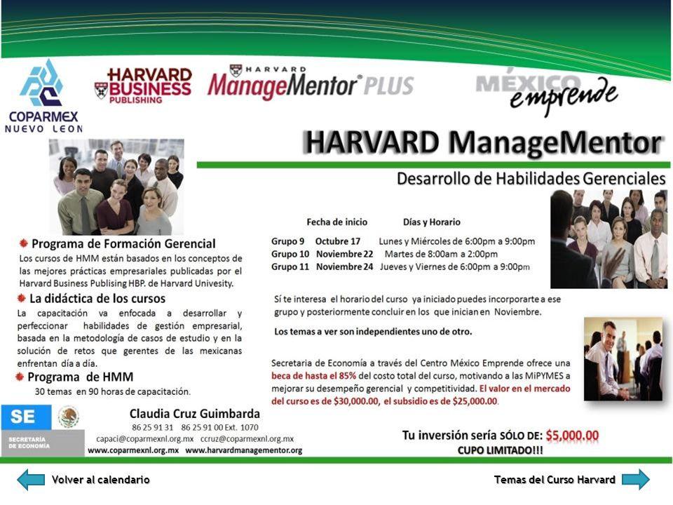 Volver al calendario Volver al calendario Temas del Curso Harvard Temas del Curso Harvard
