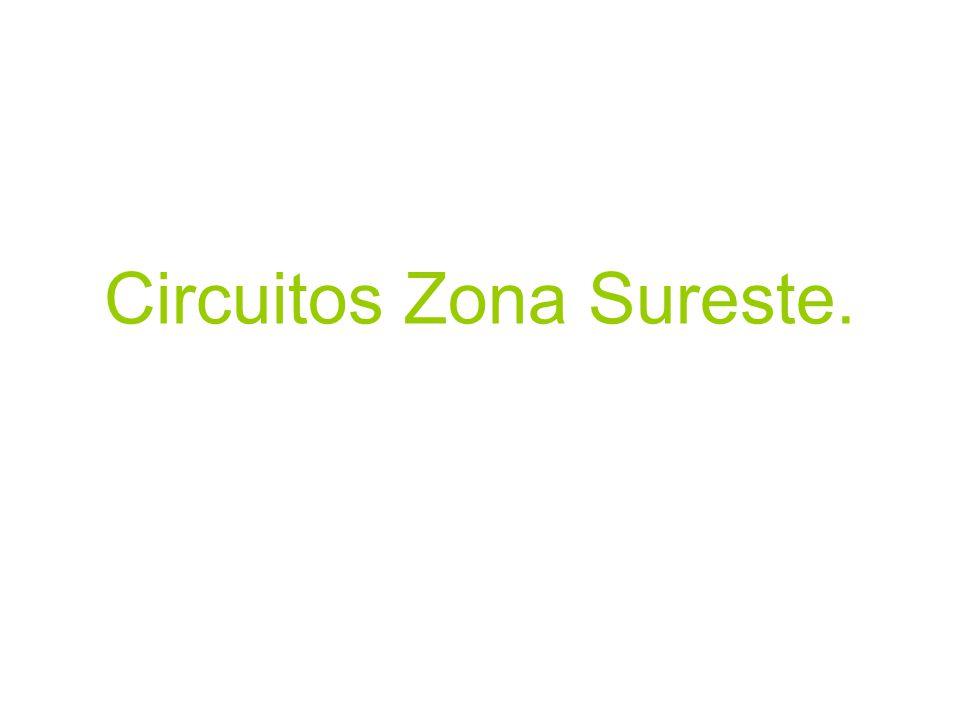 Circuitos Zona Sureste.