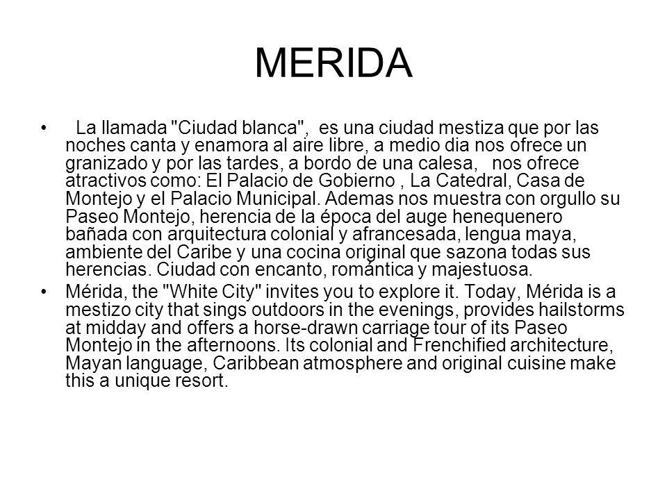 MERIDA La llamada