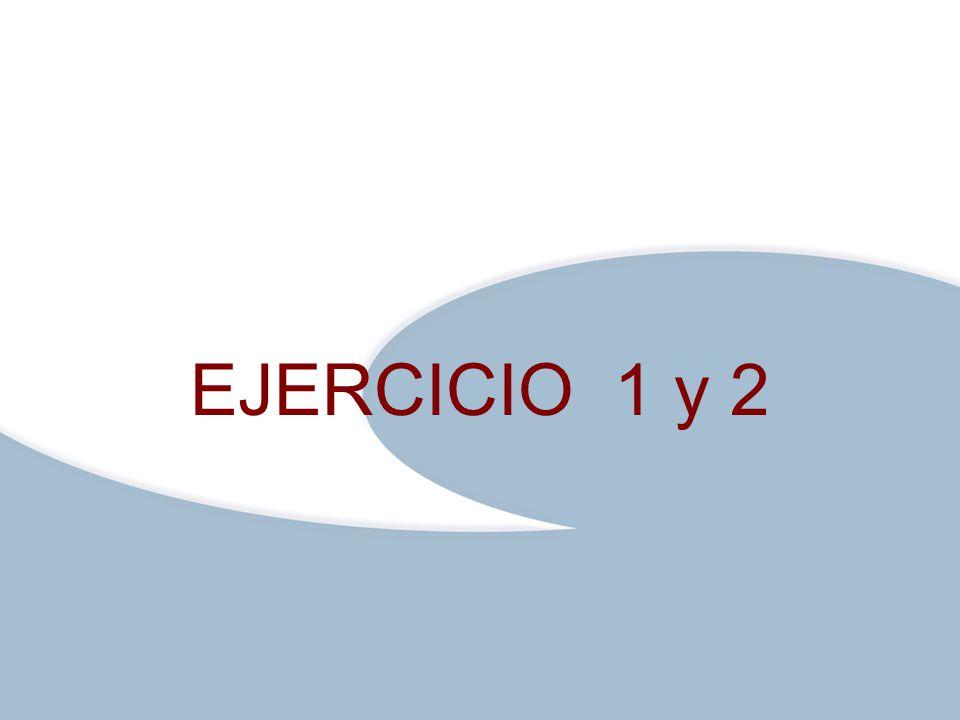 Haga clic para modificar el estilo de texto del patrón Segundo nivelC:\Documents and Settings\entrada\Mis documentos\@r@\ezm\LOGOS ezm\Logoezmplanteles.pngC:\Documents and Settings\entrada\Mis documentos\@r@\ezm\LOGOS ezm\Logoezmplanteles.png Tercer nivel Cuarto nivel Quinto nivel EJERCICIO 1 y 2