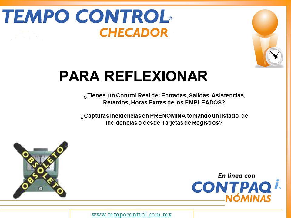 www.tempocontrol.com.mx ¿Qué es Tempo Control.