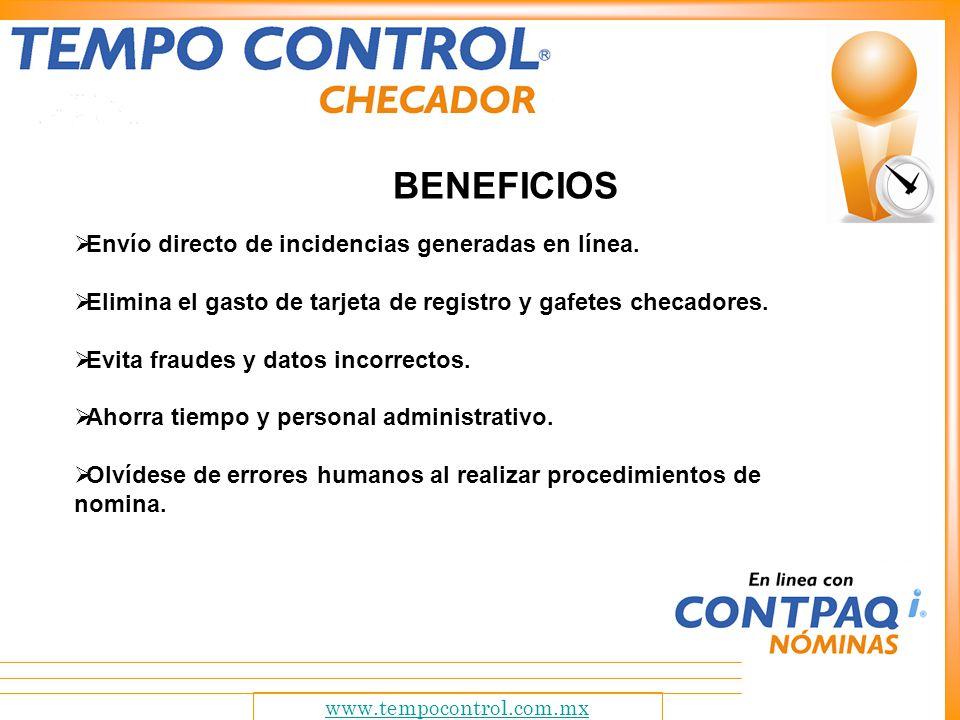 www.tempocontrol.com.mx ¿COMO FUNCIONA.