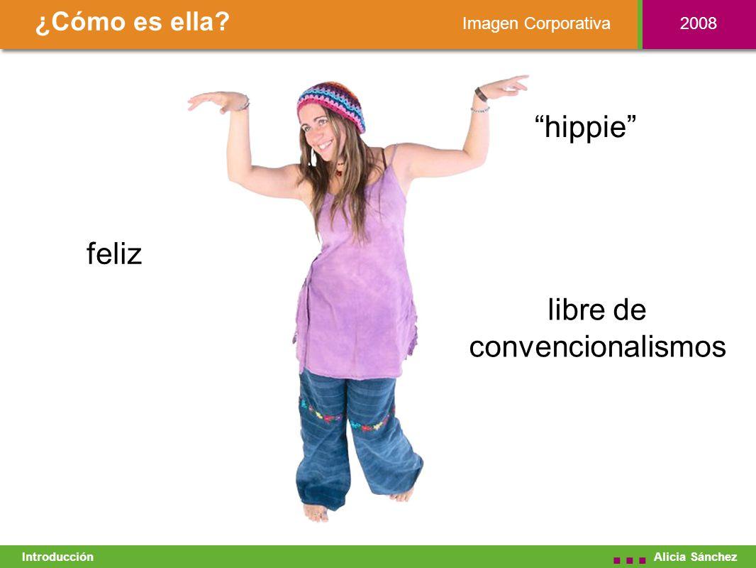 Imagen Corporativa ¿Cómo es ella. Alicia Sánchez...