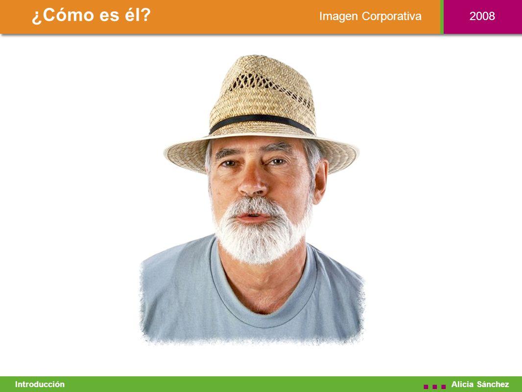 Imagen Corporativa ¿Cómo es él Alicia Sánchez... Introducción 2008