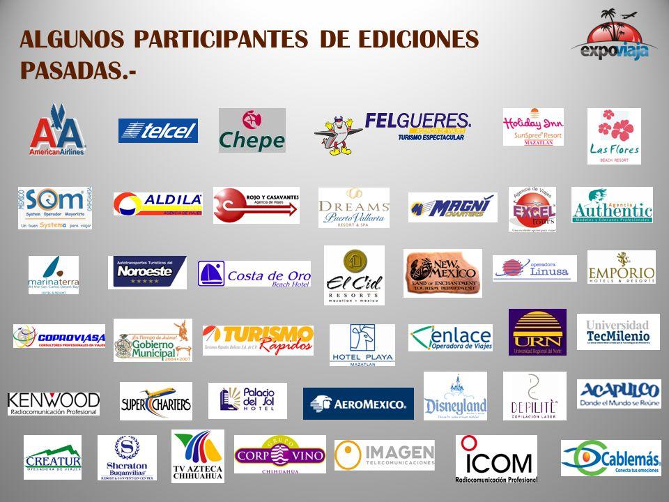 ALGUNOS PARTICIPANTES DE EDICIONES PASADAS.-