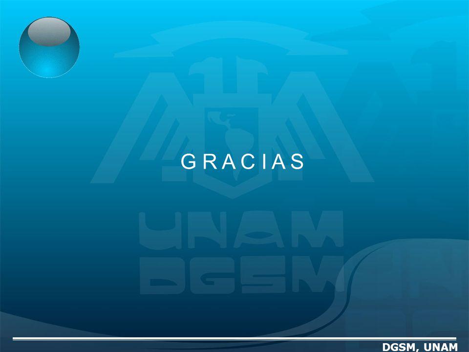 DGSM, UNAM G R A C I A S