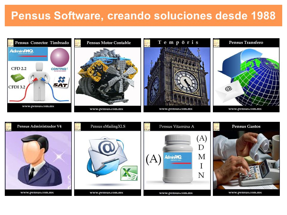 Pensus Software - ContPAQi Factura Electrónica, ContPAQi Comercial o AdminPAQ Multiempresa - ContPAQi Factura Electrónica, ContPAQi Comercial o AdminPAQ 2 Usuarios o Más MODO2: Requisitos ContPAQi