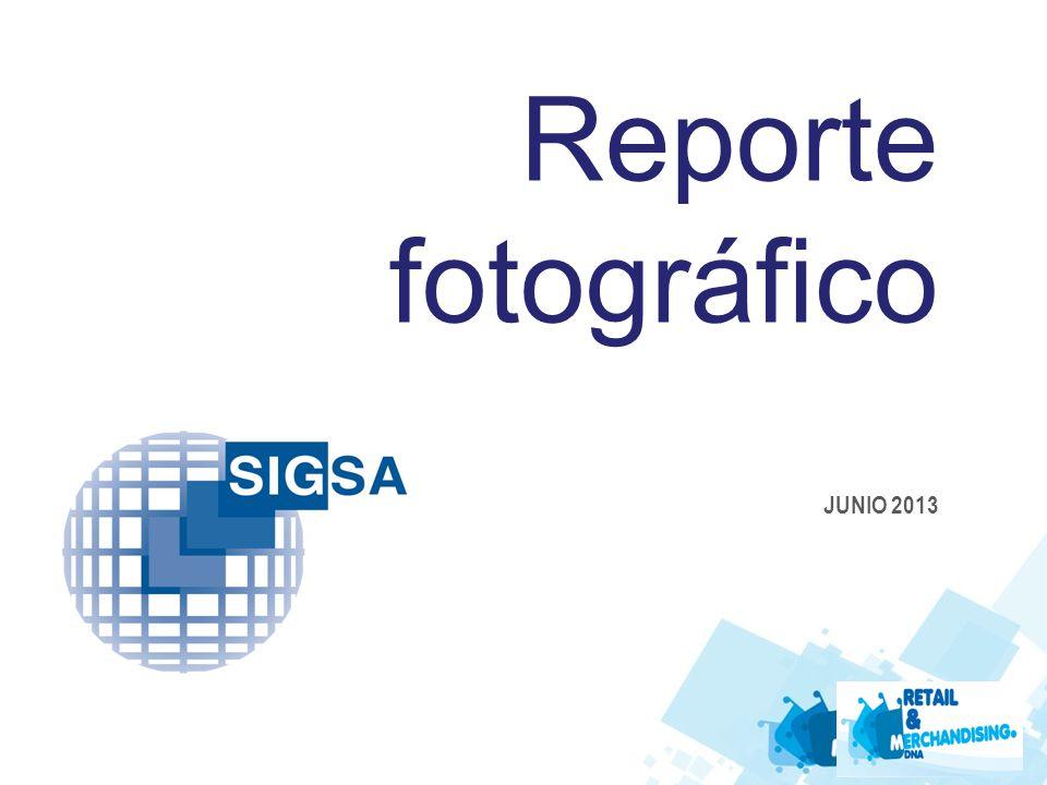 Reporte fotográfico JUNIO 2013