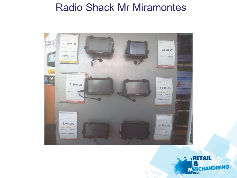 Radio Shack Mr Miramontes