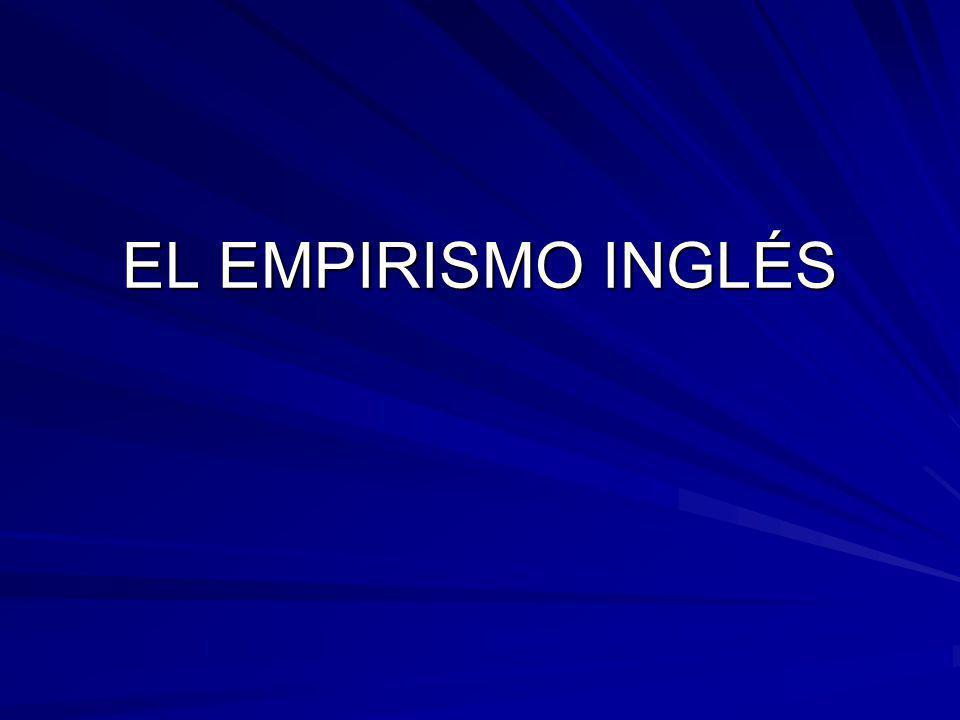 EL EMPIRISMO INGLÉS