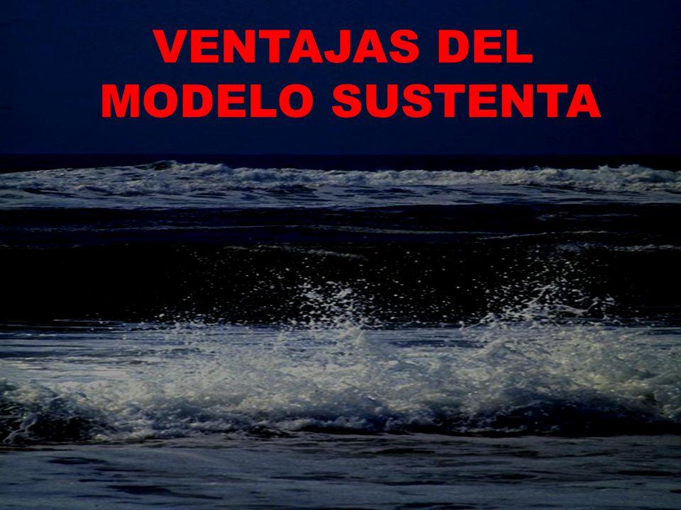 VENTAJAS DEL MODELO SUSTENTA