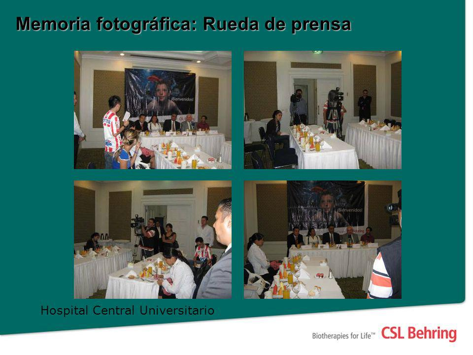 Memoria fotográfica: Visitas a Hospitales Hospital IMSS GZR