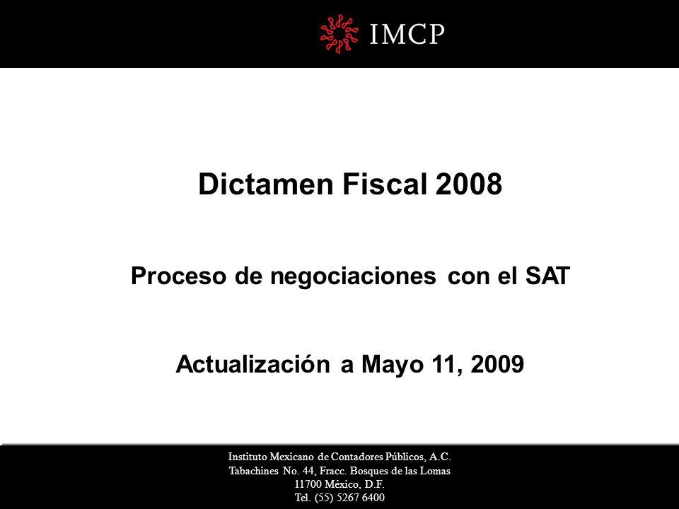 Agenda I.Introducción I.1. Publicación en el DOF de los Anexos I.2.