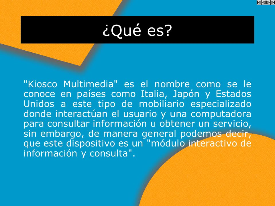 ..:: McKiosco ::.. Módulo interactivo de información y consulta.