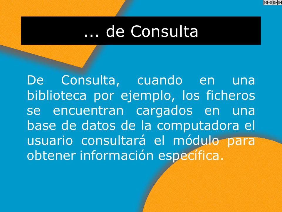 ... de Información Informar, en una exposición o evento donde la empresa desea transmitir al usuario información general sobre los productos o servici