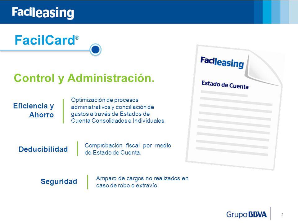 3 Optimización de procesos administrativos y conciliación de gastos a través de Estados de Cuenta Consolidados e Individuales.