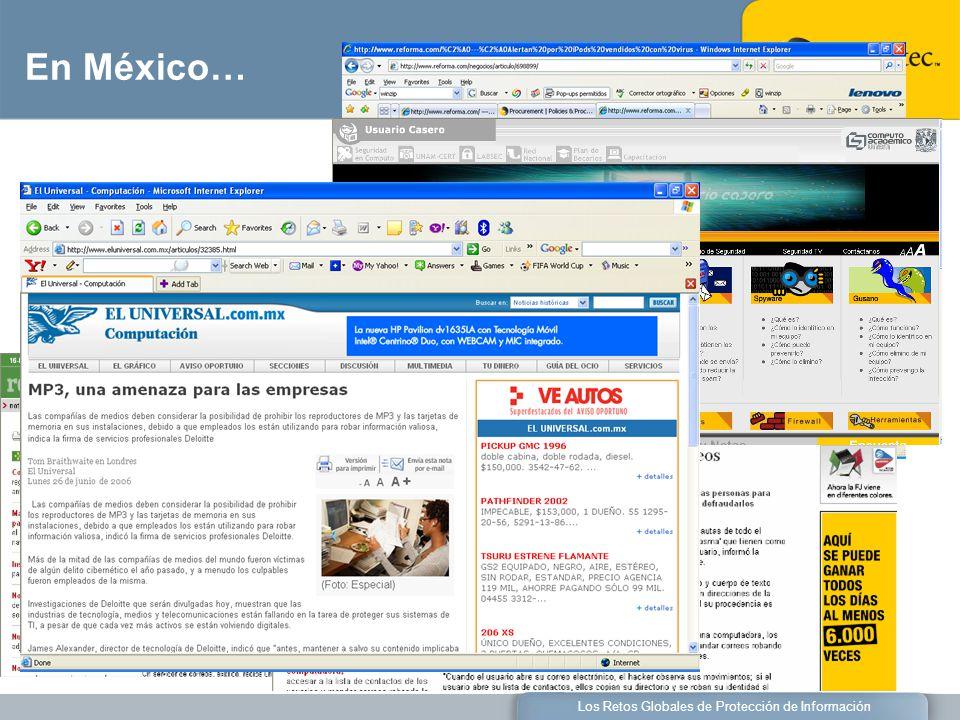 Los Retos Globales de Protección de Información En México…