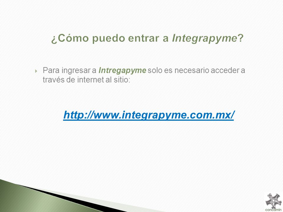 Portal Integrapyme –Home-