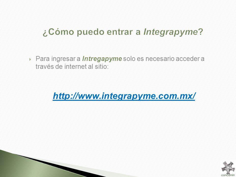 ¿Cómo puedo entrar a Integrapyme.