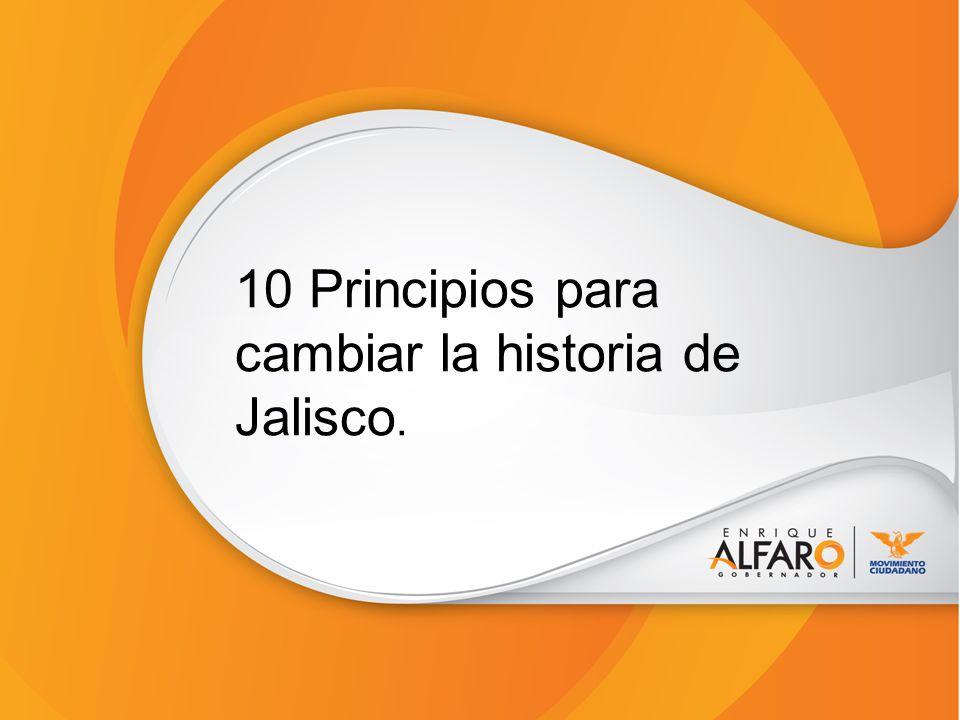 10 Principios para cambiar la historia de Jalisco.