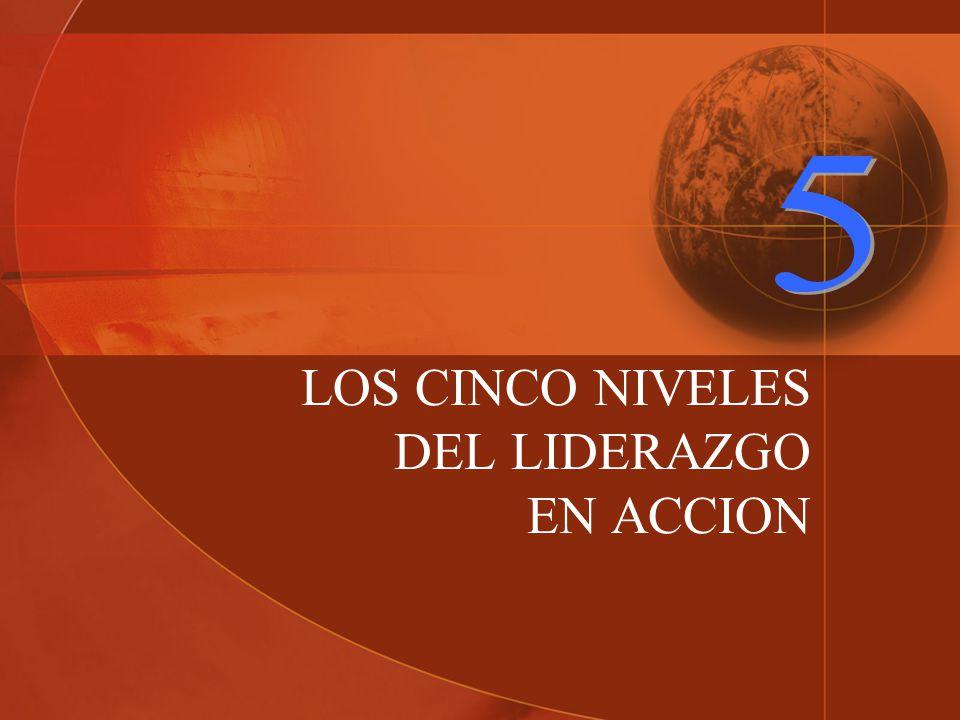 LOS CINCO NIVELES DEL LIDERAZGO EN ACCION