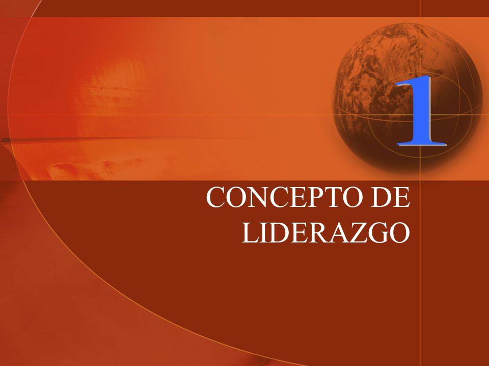 CONCEPTO DE LIDERAZGO