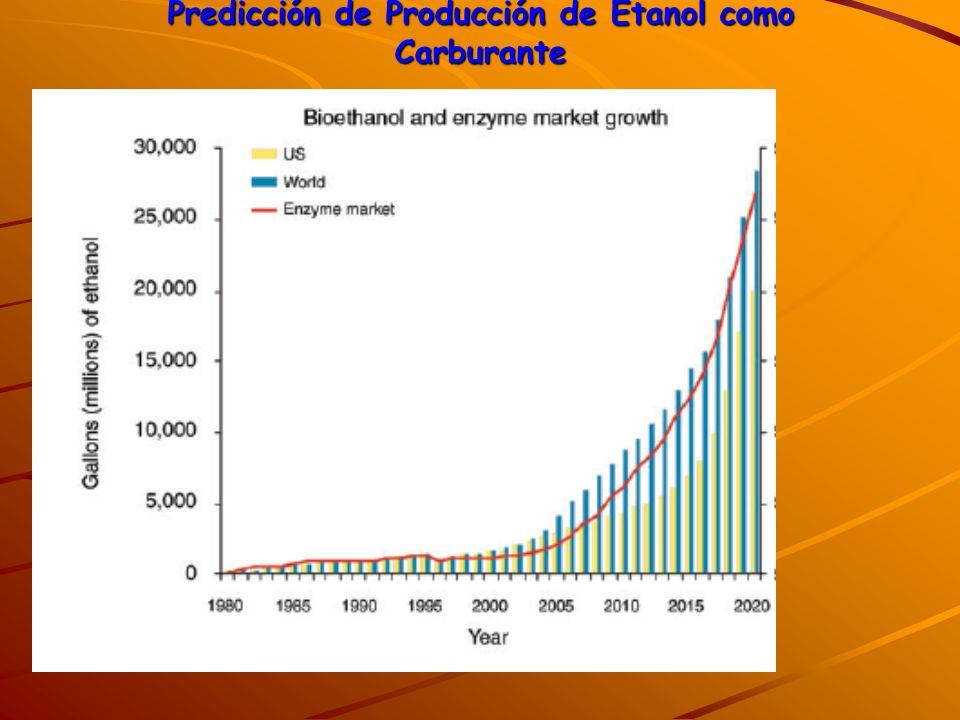 Países con programas de etanol carburante EUA (E-10 y para FFV E-85), Canadá (E-10 y para FFV E-85), Suiza (E-5 y para FFV E-85), India (E-5), Australia (E-10), Tailandia (E-10), China (E-10), Colombia (E-10), Perú (E-10), Paraguay (E-7) y por supuesto Brasil (E-20 / E-25 y para FFV cualquier mezcla).